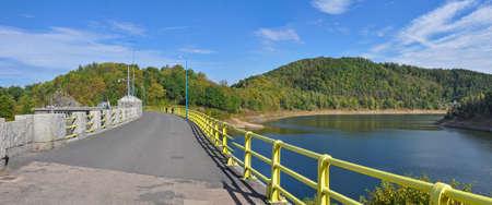 Pilchowickie Lake near Jelenia Gora, Poland