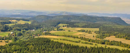 Stolowe Mountains National Park near Kudowa-Zdroj resort, Lower Silesia, Poland Stolowe Mountains
