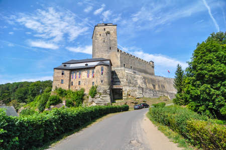 View of historically castle Kost - Czech Republic, Bohemian Paradise