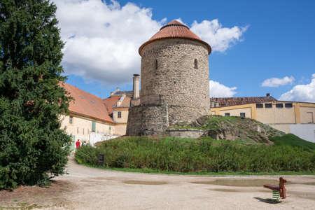 Znojmo - Ducal Rotunda of the Virgin Mary and St Catherine 版權商用圖片