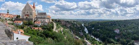 Panorama of Znojmo, Czech Republic, South Moravia
