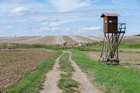 Border between the Czech Republic and Austria 版權商用圖片