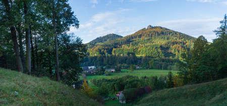 Mountains Rudawy Janowickie, Sudety Mountains, around Jelenia Góra, Poland, Lower Silesia, Karkonosze