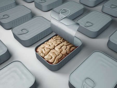 brain in a can Imagens
