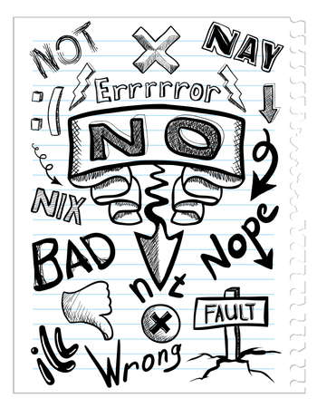 fault: set no sketchs Illustration