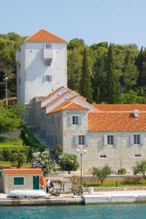 Maslinica, Solta Island, Croatia Stock Photo