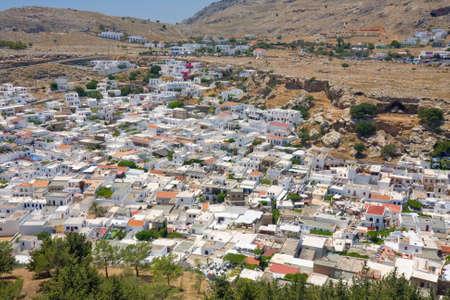 lindos: Lindos, Rhodes, Greece