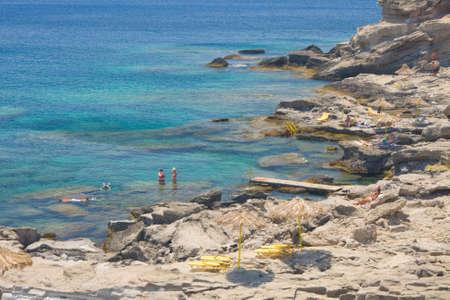 Kalithea beach, Rhodes, Greece