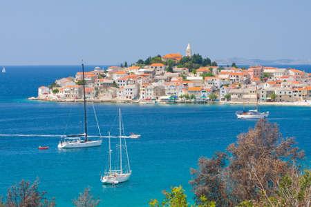 Town Primosten in Croatia
