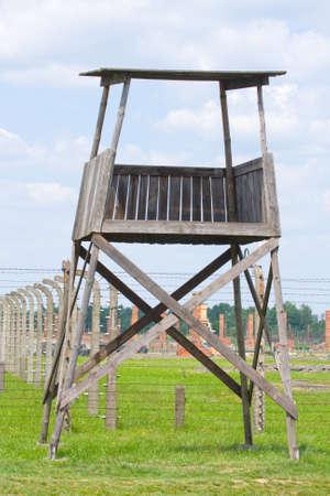 birkenau: Auschitz Birkenau, fascist extermination camp ,Poland