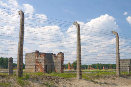 Auschitz Birkenau, fascist extermination camp ,Poland  photo