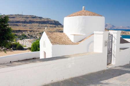 Chapel, Lindos, Greece  photo