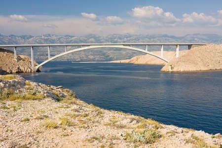 Bridge, Pag Island, Croatia  photo