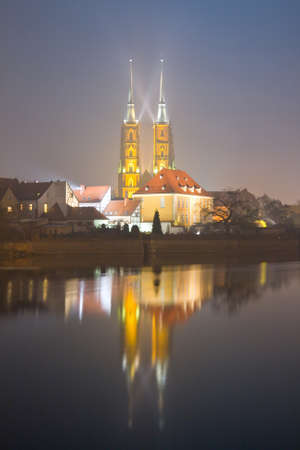 saint john the baptist cathedral in wroclaw, poland photo
