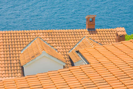 Red roof, Croatia photo