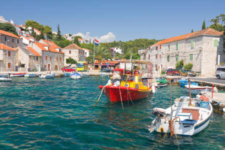 Maslinica, Solta Island, Croatia