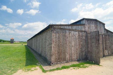 Auschitz Birkenau, fascist extermination camp, Poland