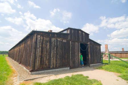 Auschwitz Birkenau Stock Photo - 14963432