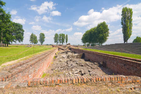Auschwitz Birkenau Stock Photo - 14965517