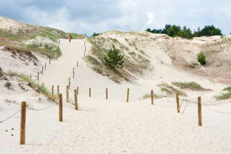 slowly: Pathway on Czolpinska Dune, Baltic