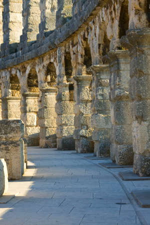 Amphitheater of Pula, Croatia photo