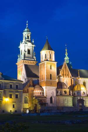 wawel: Wawel Castle in Krakow, Poland  Editorial