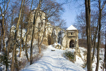 Medieval castle in Ojcow National Park