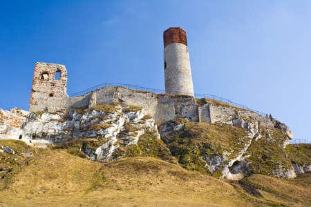 Olsztyn Castle - Poland. Medieval fortress in the Jura region Stock Photo - 16624755