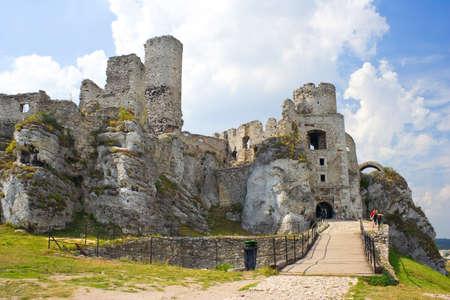 Ogrodzieniec Castle, Poland.  Stock Photo - 16628207