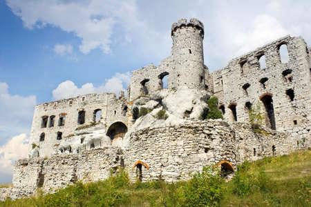 Ogrodzieniec Castle, Poland.  photo