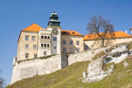 Pieskowa Skala castle near Krakow Stock Photo - 16628212