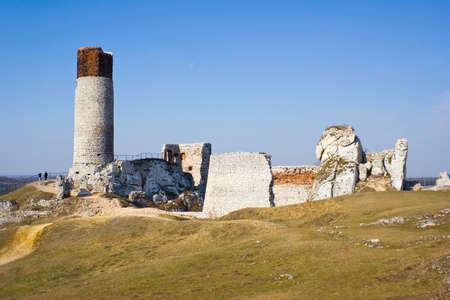 Olsztyn Castle - Poland. Medieval fortress in the Jura region Stock Photo - 16624486