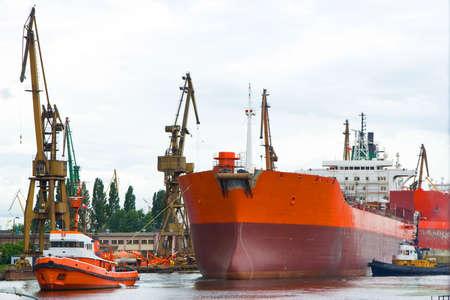 Shipyard, Gdansk, Poland
