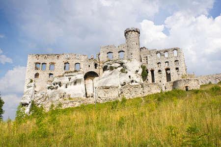 Ogrodzieniec Castle, Poland.  Stock Photo - 16838040