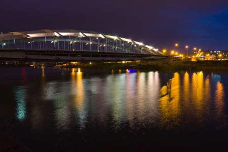Kotlarski Bridge, Krakow, Poland Stock Photo - 16881141