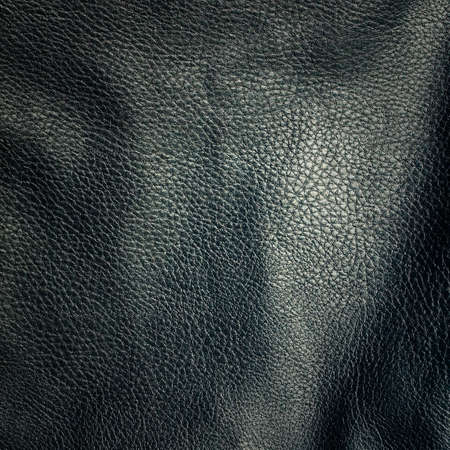 shiny grey leather background close up  photo