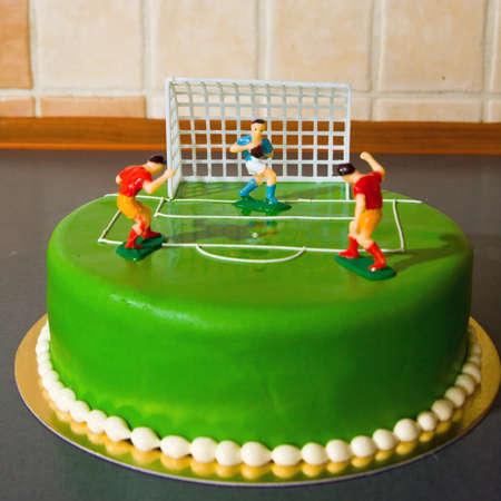 gâteau d'anniversaire pour un enfant Banque d'images