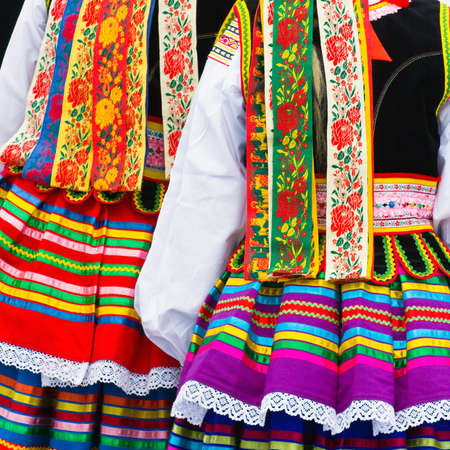 Ethnic costumes Zdjęcie Seryjne