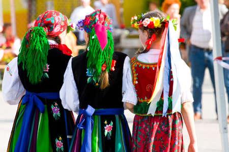 Ethnic costumes Banco de Imagens