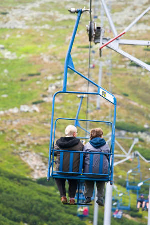 ski lift  Stock Photo - 17881724