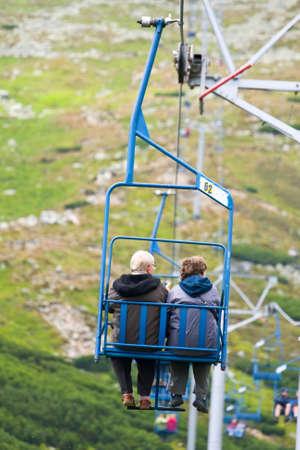 ski lift Stock Photo - 17881724