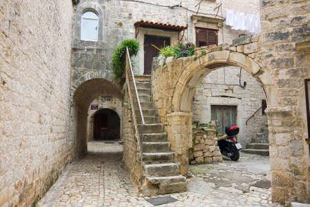Trogir, la ville en Croatie