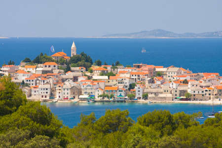 Town Primosten in Croatia photo
