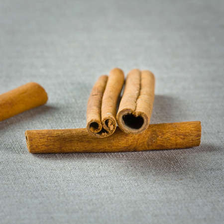 Cinnamon sticks in scoop  Stock Photo - 18063507