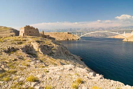 Bridge, Pag Island, Croatia