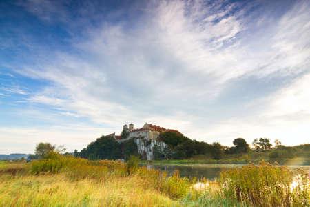 cracow: Benedictine monastery in Tyniec near Cracow, Poland