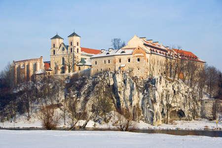 benedictine: Abad�a benedictina de Tyniec, Cracovia