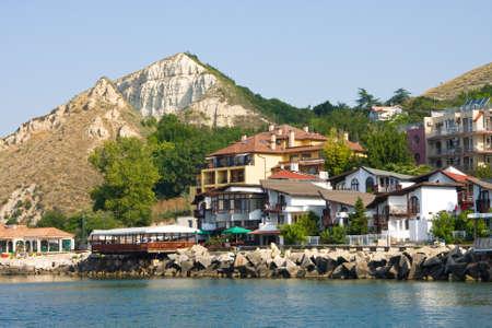 The town of Balchik on the Black sea coast, Bulgaria.