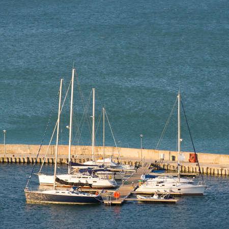 balchik: Yacht Club in Balchik on the Black sea coast, Bulgaria.