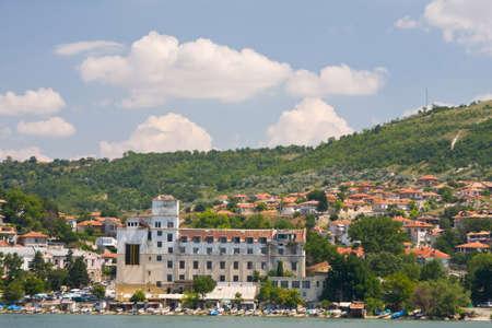 balchik: The town of Balchik on the Black sea coast, Bulgaria.